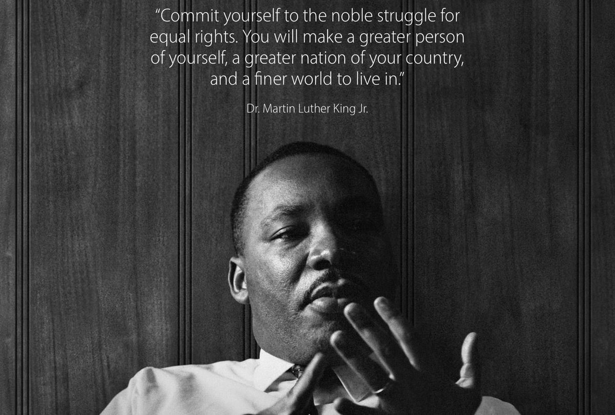 Happy belated birthday Dr. King and happy MLK day to all. Let today be a reminder that there is still so much work to be done. Let it inspire you to advocate. Let today motivate you to continue fighting for Justice, Equity & Freedom for ALL.
