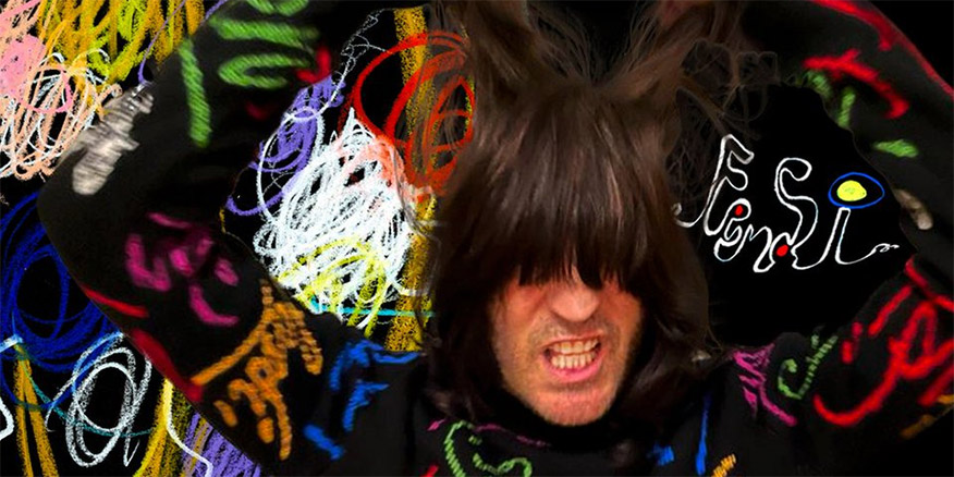 Noel Fielding has collaborated on a new clothing line with high-end Italian fashion house Fendi.