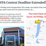 Image for the Tweet beginning: Good News! The VPA Contest