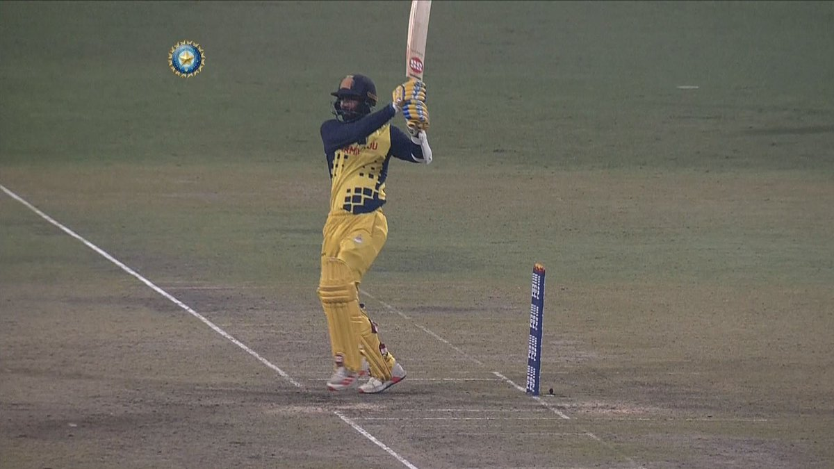 2⃣7⃣ vs Jharkhand 7⃣8⃣* vs Assam 6⃣1⃣ vs Odisha 7⃣8⃣* vs Hyderabad 7⃣1⃣* vs Bengal   N Jagadeesan creamed 6 fours & 4 sixes to score an 71* off 45 against Bengal. 👌👌 #TNvBEN #SyedMushtaqAliT20   Watch the Tamil Nadu opener's match-winning knock 🎥👇
