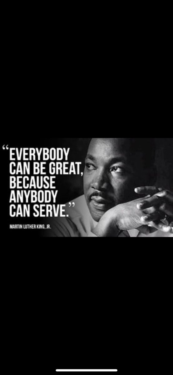 On this #mlkday remember what it means to help others, you don't have to change the world to make a huge impact
