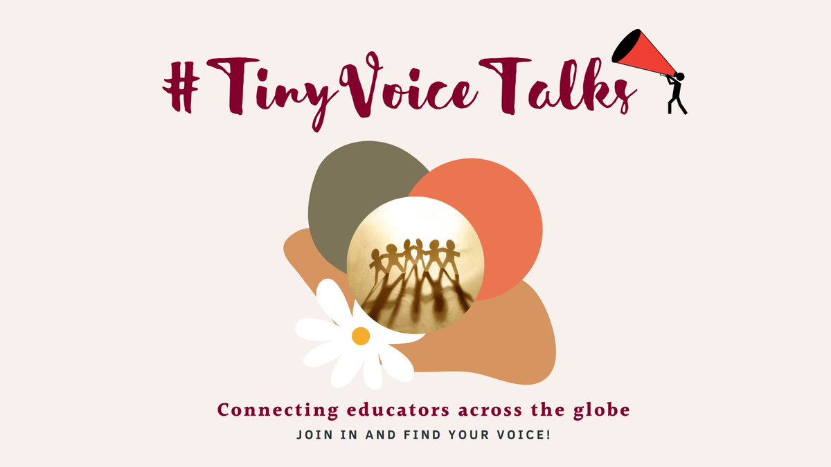 Welcome to #TinyVoiceTalks Here's what to do: 1. Like this post 2. Reply to my tweet with an introduction/ a gif/ a picture etc. that others can engage with. Don't forget to add #TinyVoiceTalks! 3. Retweet this post 4. Then chat, collaborate & connect with others!