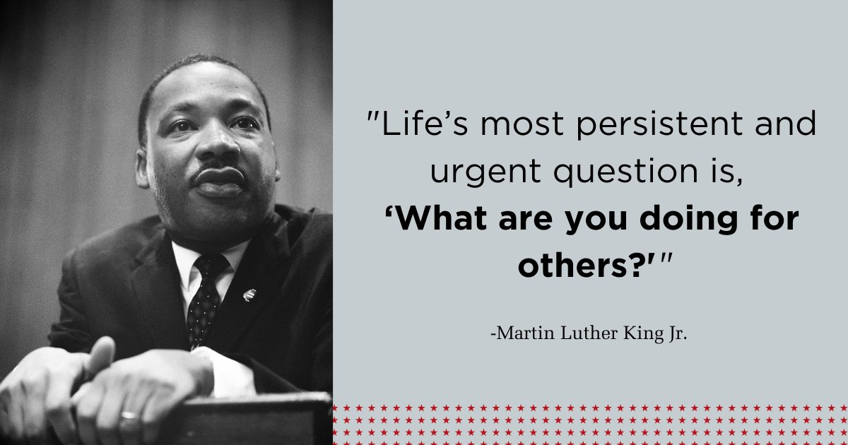Words of wisdom to ponder on this day that honors the life and legacy of Dr. Martin Luther King Jr. #MLKDay