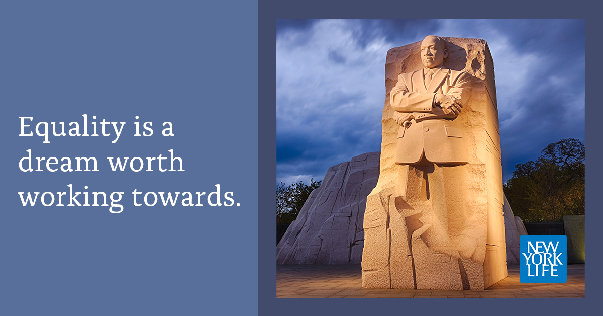 Honoring Martin Luther King Jr.'s message on #MLKDay.