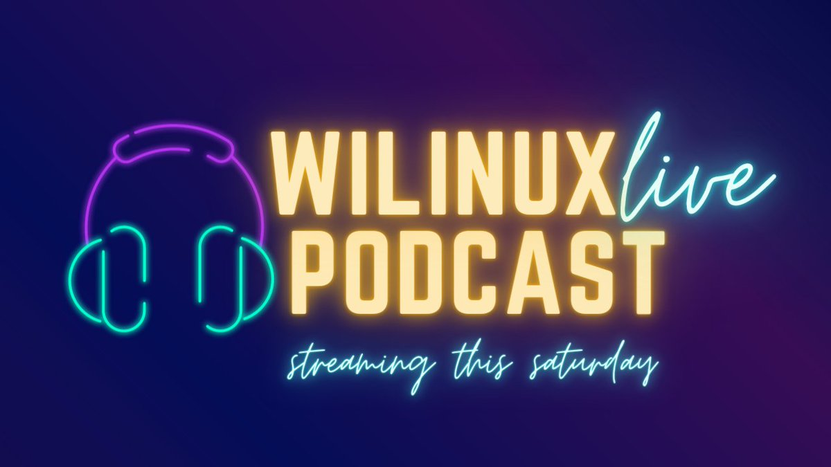 Coming to you LIVE, this Saturday (1/23)!  Join our amazing Founders, Tameika + De, for our first WE LIVE | #WIL Podcast on our Meetup Channel!   #TechPodcast #Linux #WomeninLinux #WomeninTech