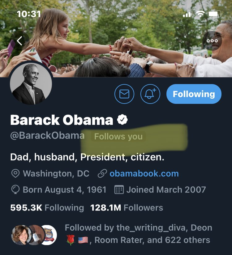 #ReasonsYouJoinedTwitter  Back in February 2009, to follow Barack Obama.   Those were the early days when he followed folks back.😍💙🇺🇸
