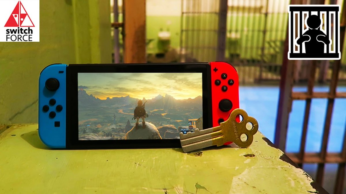What did Nintendo Switch do to end up in Jail ? #FreeSwitch