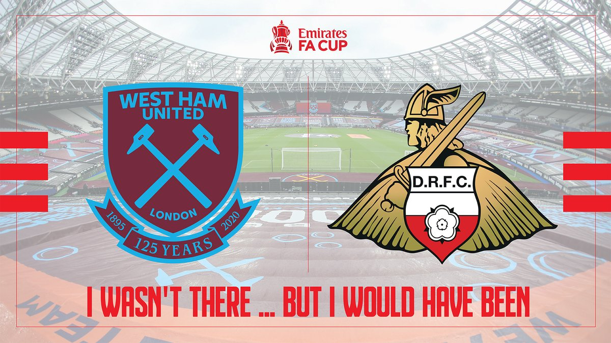 🔴⚪️ I wasn't there...but I would have been  Thank you for your amazing support so far with over 250 sold in the first few hours on sale.  Back the boys against @WestHam ⚒ with this amazing package.  #drfc #whufc  💻