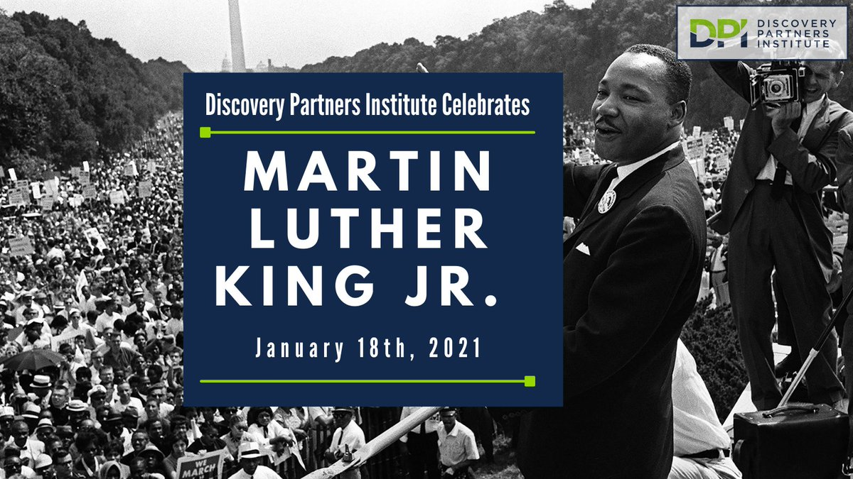 """We encourage everyone to celebrate Dr. King and his legacy as a """"day on, and not off"""" through service. Below are some ways that you can give back virtually via @AmeriCorps.     #DiscoverDPI #MLKDay #MLKDay2021"""