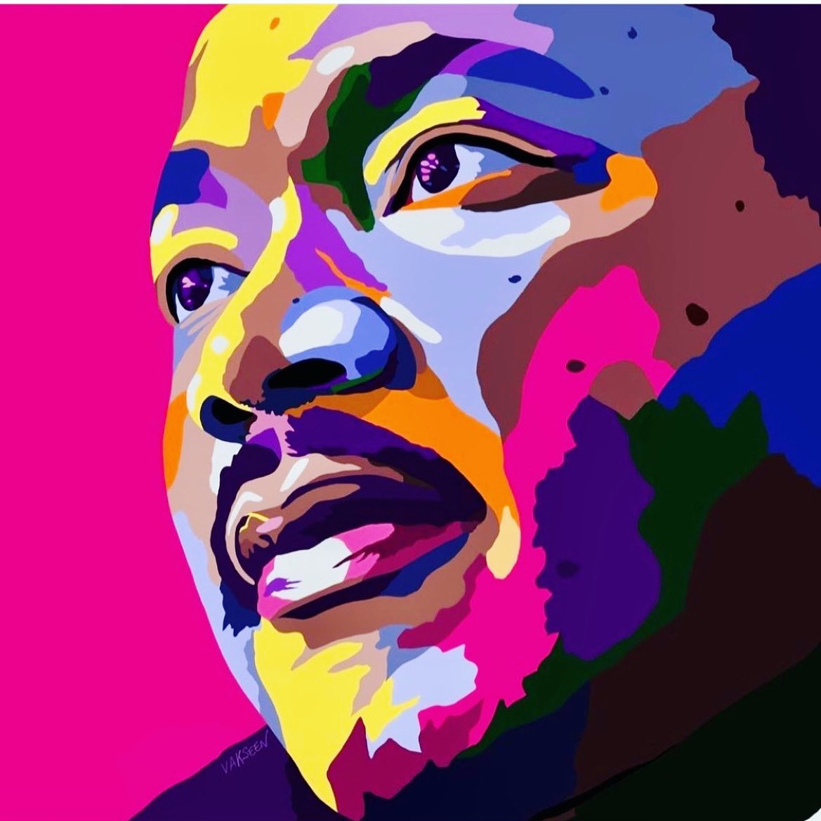 What are you doing to make the world a better place? How are you positively impacting your community and the people you love? How will your name be remembered? ✊🏿✊🏾✊🏽✊🏼#mlk #martinlutherking #mondaymotivation #mondayinspiration 👉🏽ART by @vakseen