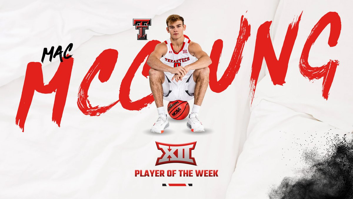 Game-winner at Texas✅ 24 points against Baylor✅ 𝐁𝐢𝐠 𝟏𝟐 𝐏𝐥𝐚𝐲𝐞𝐫 𝐨𝐟 𝐭𝐡𝐞 𝐖𝐞𝐞𝐤😤