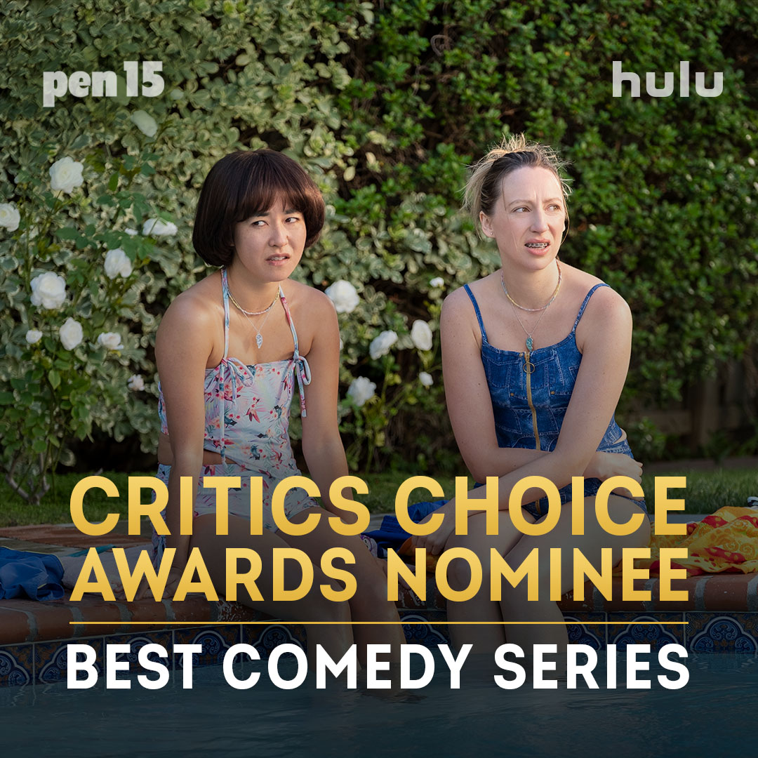 Replying to @pen15show: Omg this iz loaded. #Pen15show is nominated for a @criticschoice Award for Best Comedy Series!