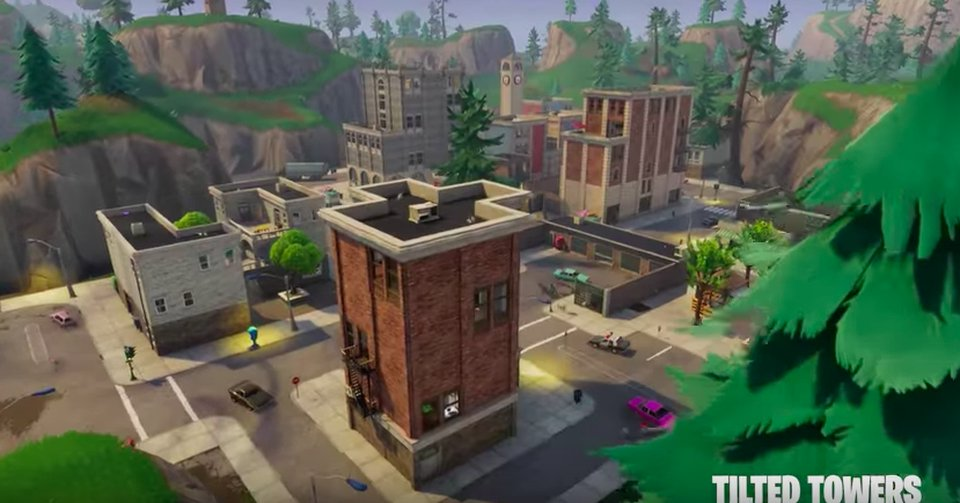 It's now been 3 years since Tilted Towers was originally added to Fortnite... 💔