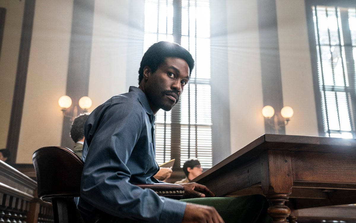 The #TrialOfTheChicago7 star Yahya Abdul-Mateen II (@yahya) hunts for the real truth about Bobby Seale  Read THE DIALOGUE in this edition of Deadline's AwardsLine Magazine |   📸 Netflix