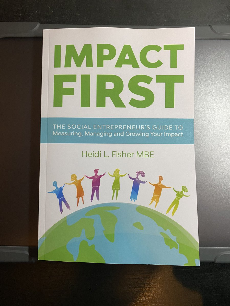 Finally got my hands on a copy of @heidilfisher latest book! Pretty much an essential read for any social entrepreneur. Your impact loses value unless you've effectively monitored and reported on it.  #ImpactMeasurementIsKey 🙌🏽⭐️
