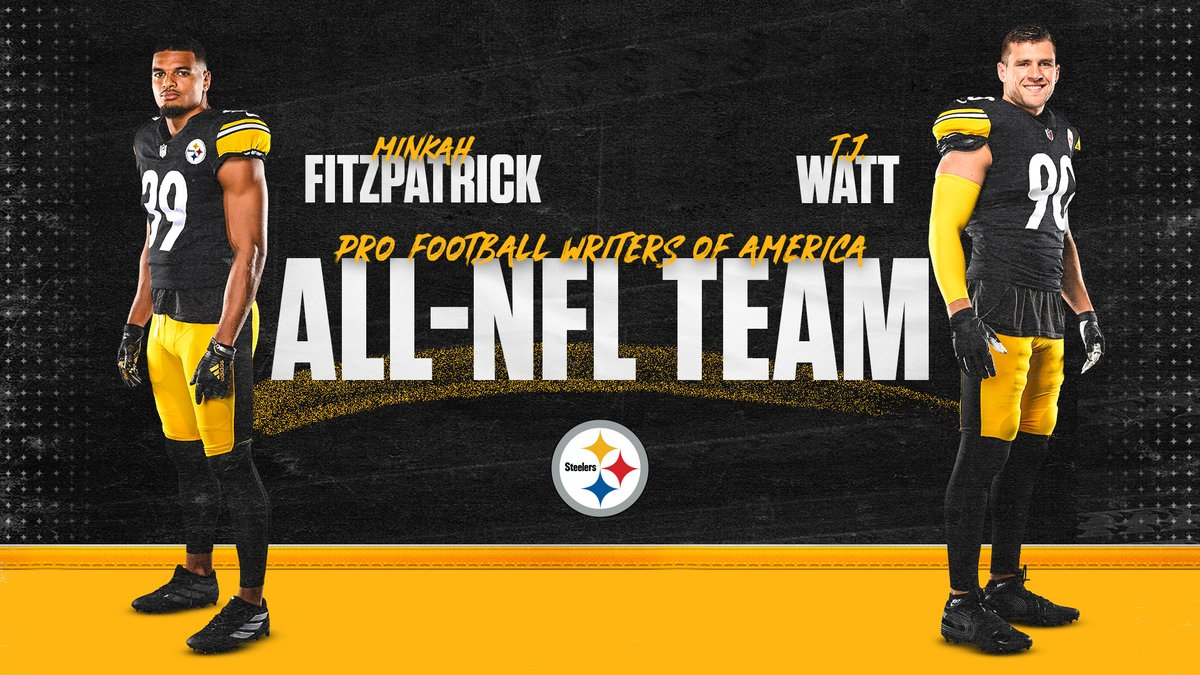 Congratulations to @minkfitz_21 & @_TJWatt for being named to the @PFWAwriters All-NFL team!  📝: