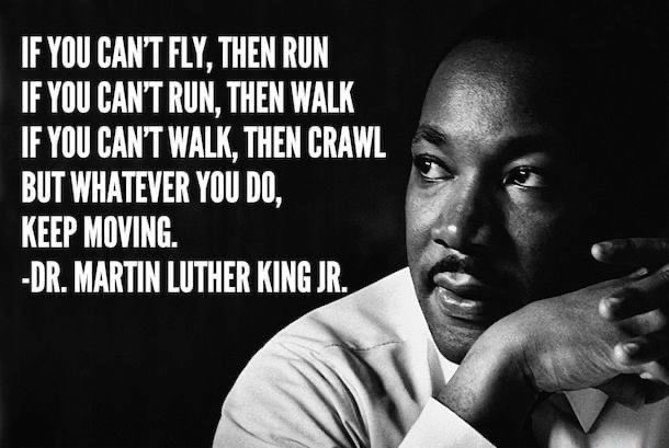 Keep going 🤍 #MLKDay2021 #MotivationMonday #MentalHealthMonday