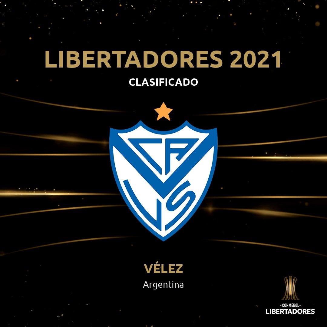 👋🇦🇷 ¡Un campeón está de vuelta! @Velez se aseguró un lugar en la Fase de Grupos de la CONMEBOL #Libertadores 2021.