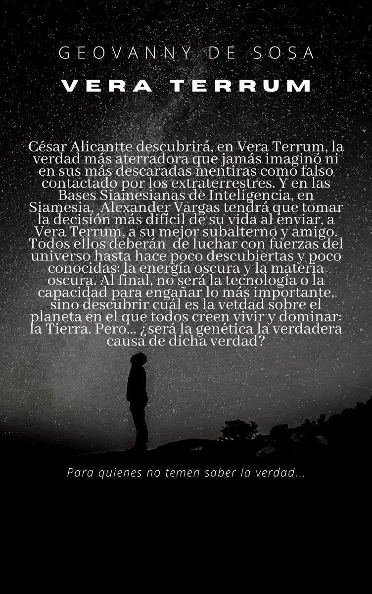 """Vera Terrum (sinopsis). En Amazon (buscar con """"Geovanny de Sosa""""). ¡Nos vemos al otro lado del espejo!  Geovanny de Sosa, escritor costarricense #geovannydesosacantautoryescritor #losdueñosdelacasa #kókkina #losclavelesdemelannia #veraterrum #geovannydesosa #vamosajugar"""