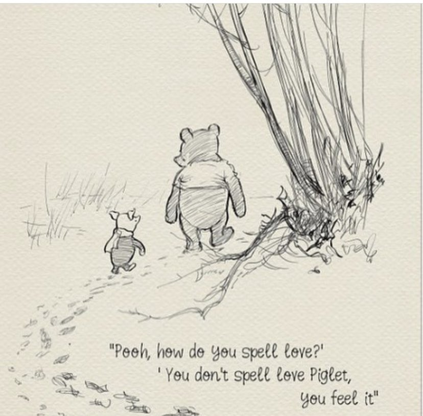 Sending out some love and kindness to this who need to hear it today.  🖤🤍🤍🖤#WinnieThePoohDay #mondaythoughts #kindness