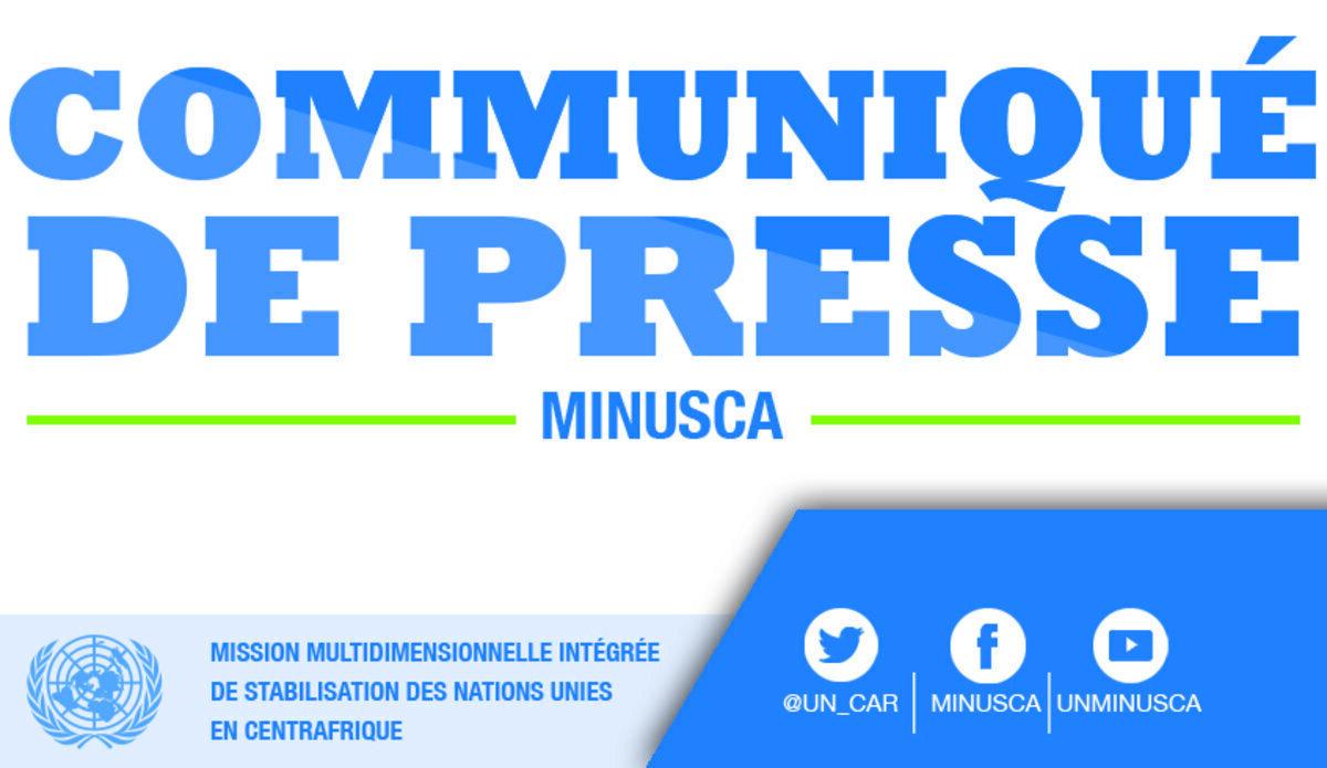 Deux casques bleus de la #MINUSCA – un gabonais et un marocain - ont été tués lundi, à 17 km de #Bangassou (préfecture du Mbomou), dans le sud de la #RCA🇨🇫, suite à l'embuscade de leur convoi par des éléments des groupes armés coalisés.