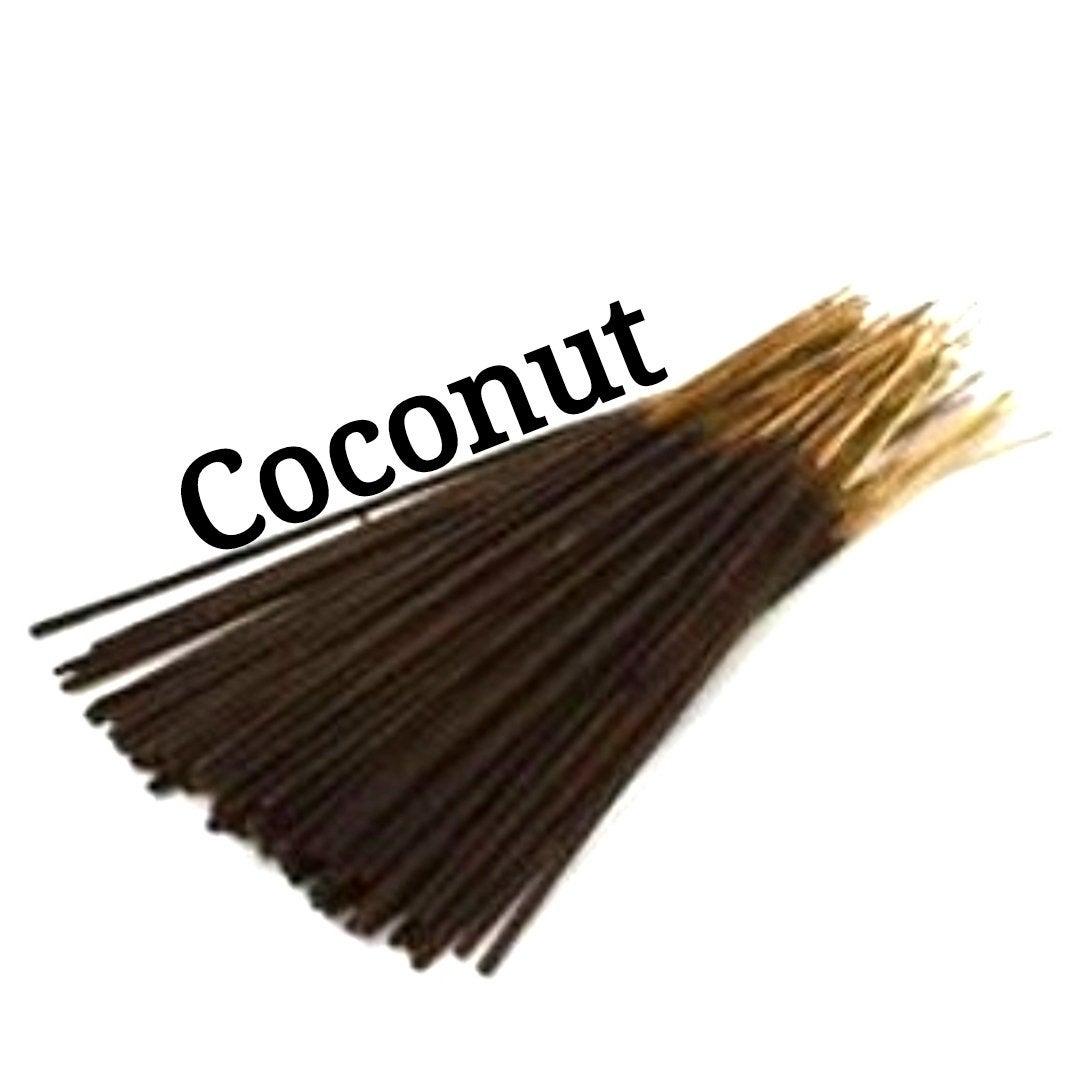 Incense Sticks | Coconut | 30 Incense Sticks | Incense Bundle  #HerbalRemedies #HomeFragranceOil #CyberMonday #Incense #PerfumeBodyOils #Etsy #BlackFriday #AromatherapyOil #GiftShopSale #Wedding #Incense