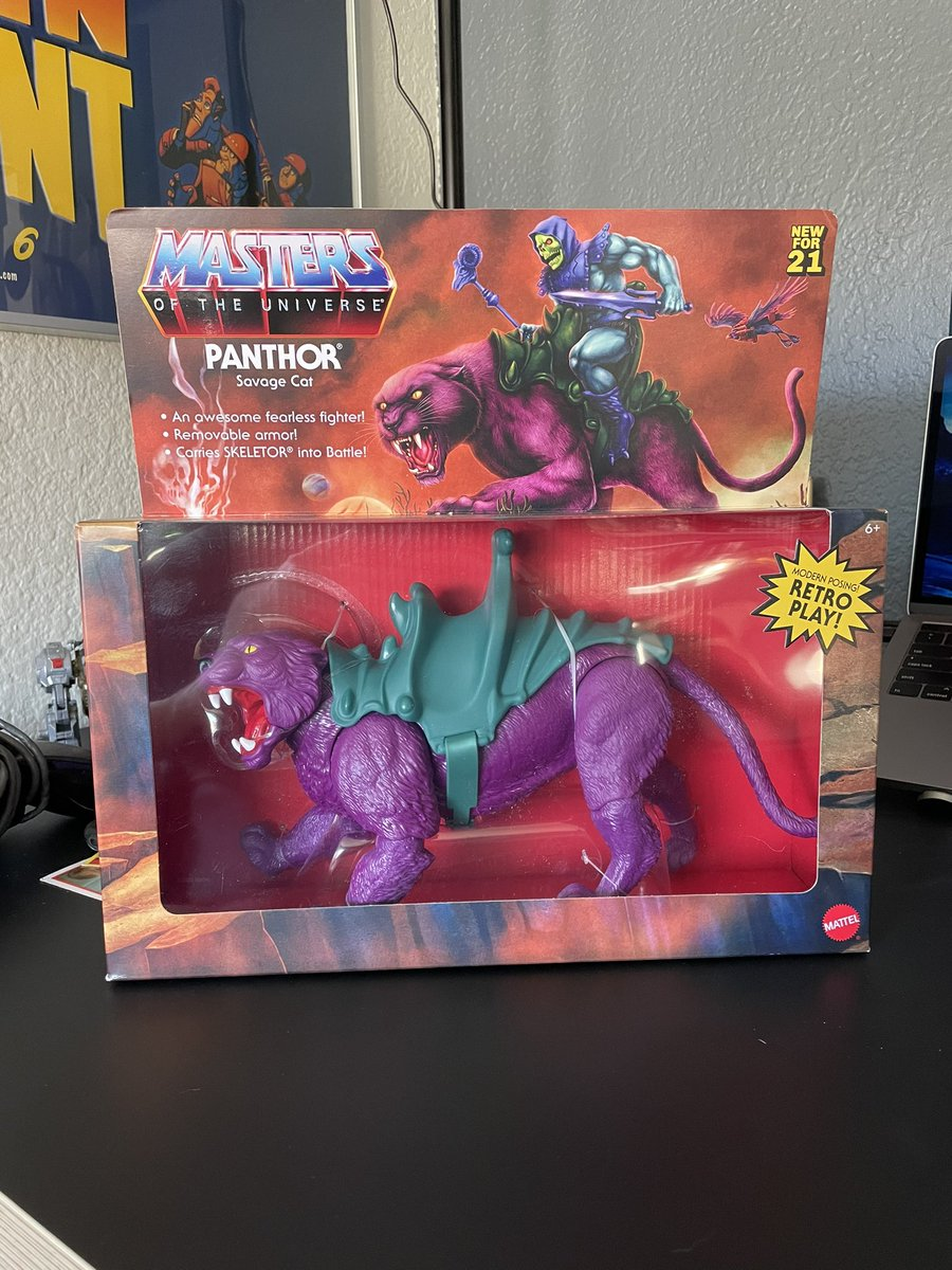 Went ahead and picked up another one. Might sell it 🤔 #MOTU #Panthor