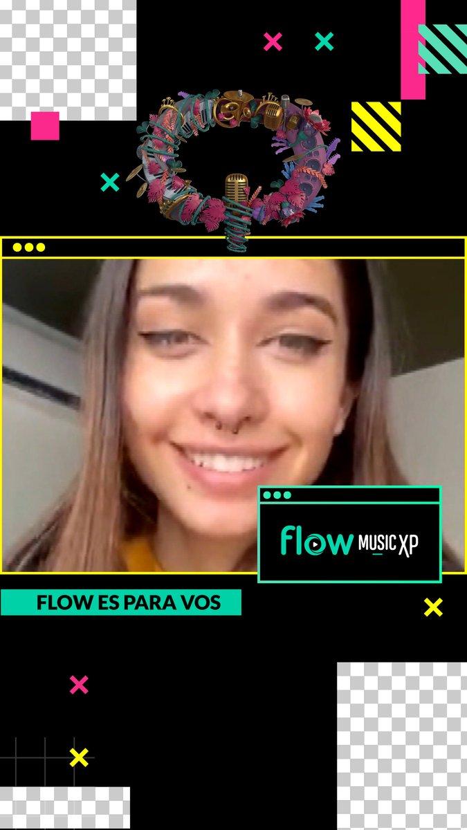 . @MariaBecerra22 habló con @Dialoybrenda ! y vos los viste primero en @flowmusicxp #FlowEsParaVos!