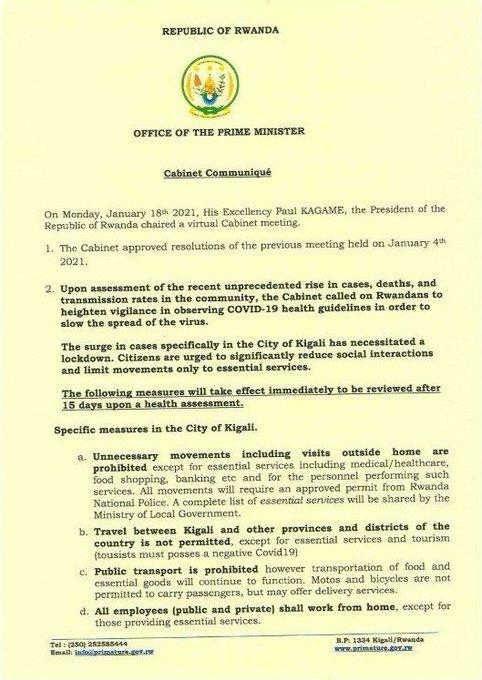 Covid-19 : Paul Kagame devient le premier dirigeant de l'Afrique de l'Est à recevoir le vaccin