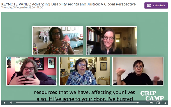 Congratulations @CripCampFilm for Best Feature @IDAorg's Doc Awards! A powerful testimony on a journey towards #inclusion! @ILO proudly works with disability rights advocate @judithheumann & filmmakers @NicoleNewnham @JimLeBrecht on #DisabilityInclusion.