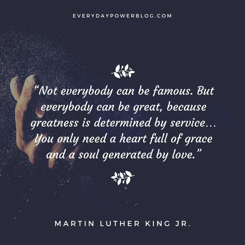 Everybody CAN be great‼️ #quotes #quoteoftheday #quote #mondaythoughts #MartinLutherKingDay #MLKJr #BlackOwned #Siblings