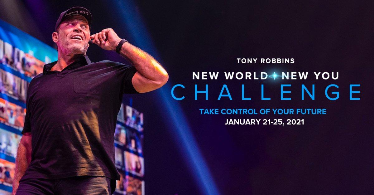 Robbins day challenge 10 tony Tony Robbins