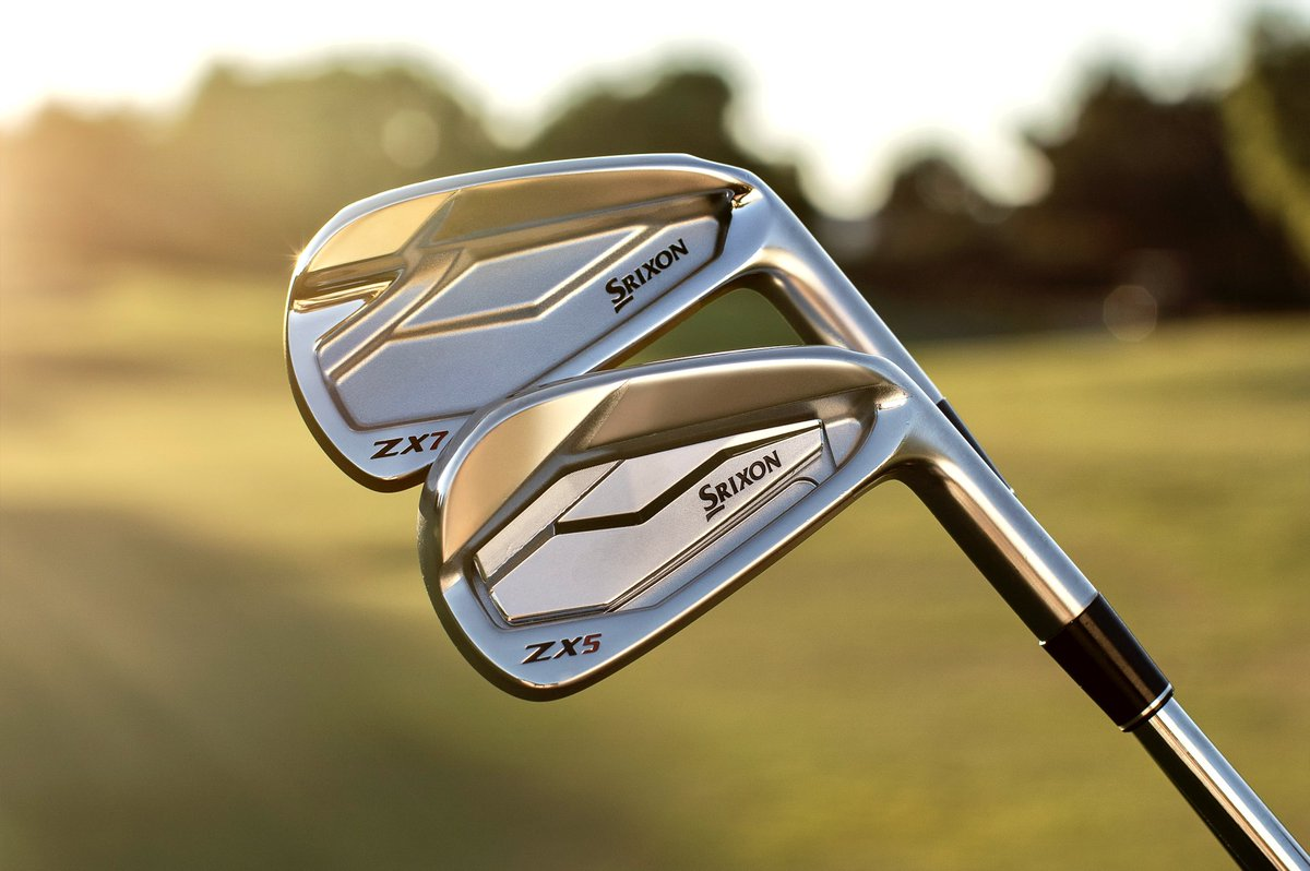 ZX5 + ZX7 - Get it all with an uncompromising combination of distance in your long irons and workability in your short irons.