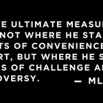 """Image for the Tweet beginning: """"The ultimate measure of a"""