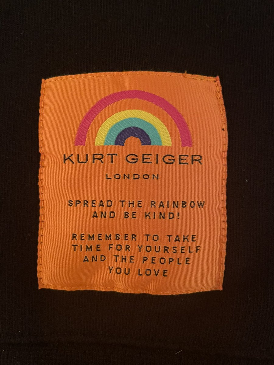 National Kindness Week 2021  I'll be wearing my new @KurtGeiger sweatshirt to school tomorrow for my Key Worker Group session and I'll be spreading the 🌈 #Sc 🖤 https://t.co/g1e07jyBzA