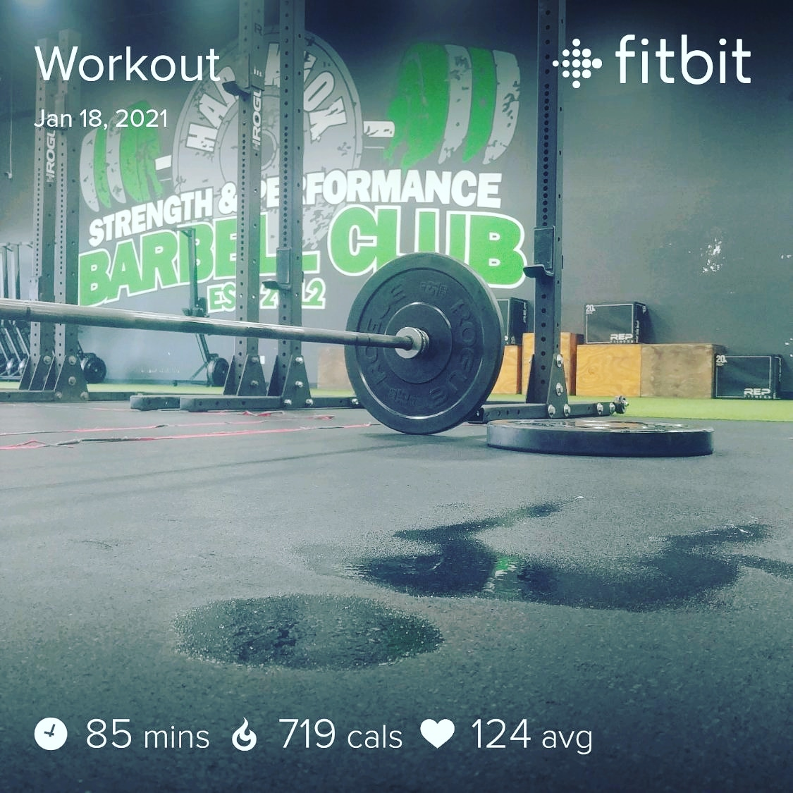 #workout #puddle 👊 😰😰😰 🏋🏋🏋 💪💪💪 #strictpress #frontsquats #jumpsquats #running #thrusters #Russiantwists #vups #gym #barbell #plate #workoutmotivation #HardknoxMornings #HardknoxStrong #ElBuckets #TeamULTRA #LiveULTRA #doitforthecheers #MondayMotivation #MondayMadness