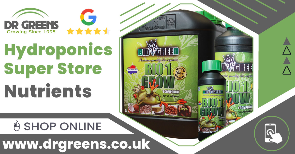 Shop for #Nutrients #Boosters & Beneficials - #SHOGUN #Canna #VitaLink #BioBizz & more. For #Soil #Coco Organic & #Hydro growers! Great Price + Fast Shipping #drgreens  Buy online today: