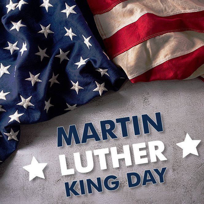 Happy MLK Day! Whether you're working or you have the day off, we remember that today is a day to celebrate the life and achievements of this influential American civil rights leader. #martinlutherking #mlkday #january18
