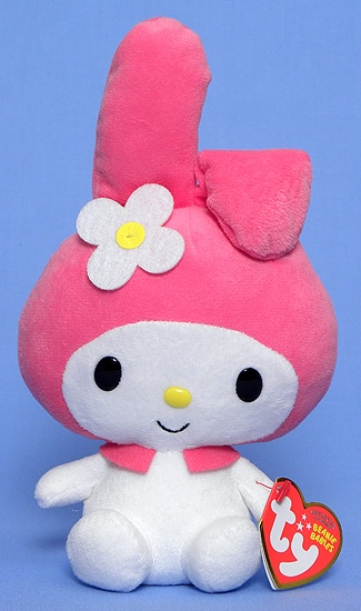 Replying to @beaniebabybot: My Melody the rabbit.  Birthday: January 18.
