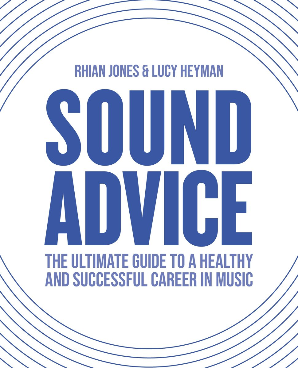 .@SoundAdviceBook is a health-focused performance and career manual for aspiring and established musicians and those that work with them! 🙌 The book will be published on February 28th and can be pre-ordered via the link below!  https://t.co/ioHpwRKriY https://t.co/hyRdEY0RL0
