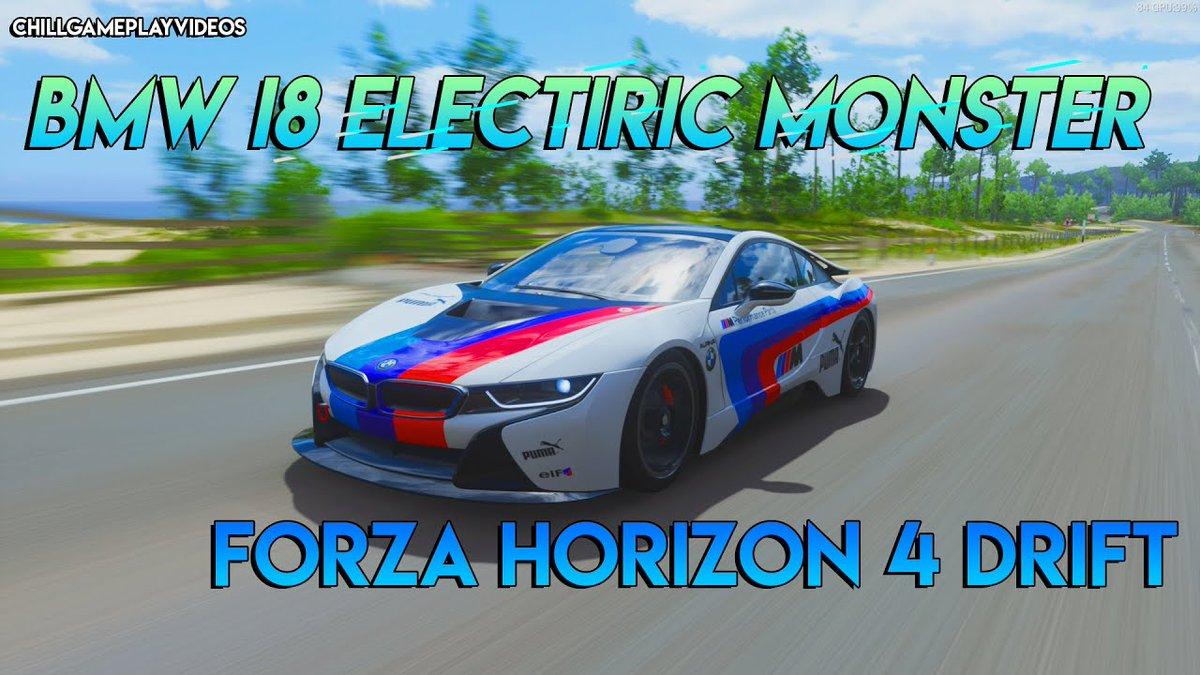 ELECTIRIC MONSTER BMW I8 | Forza Horizon 4 click and watch.  #ForzaHorizon4 #forzahorizon4bmw #BMW #bmwdrive #BMWiDrive #bmwi8 #bmwdrift #drift #drifters #games #gameplay #drifting