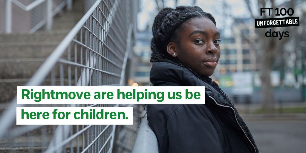 For many young people and children, the last few days of 2020 were challenging. By sponsoring Childline, @Rightmove helped ensure our counsellors could give hope and support to the young people who reached out, meaning things were a little brighter for them as they entered 2021.