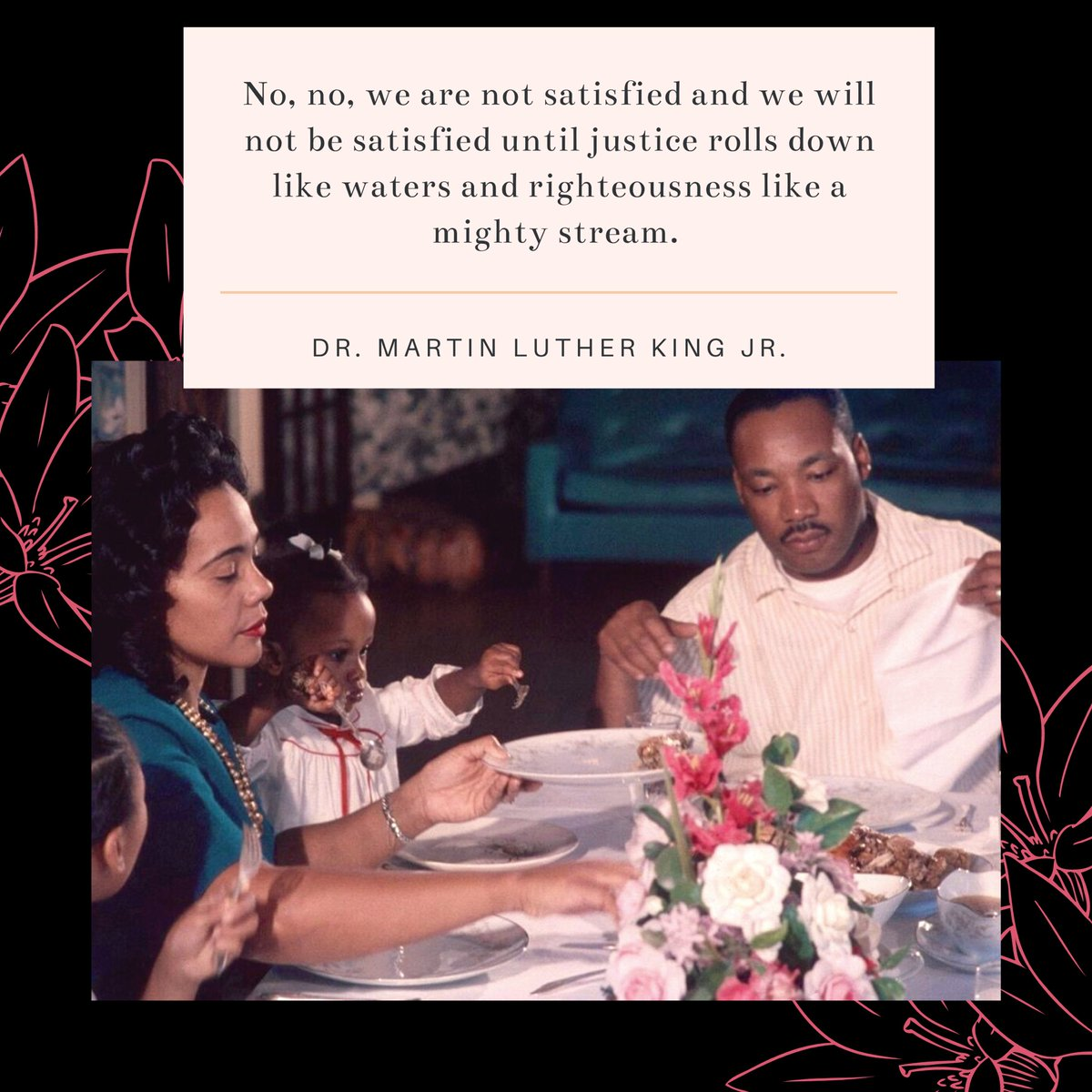 Today we honor Dr. Martin Luther King Jr. and Coretta Scott King for their bravery and sacrifice in the fight for racial and economic justice.  _______ • • • • • #GVFM #GVibesFashionMusic #MartinLutherKing #MLK #MLKDay #CorettaScottKing #CivilRights #BlackLivesMatter
