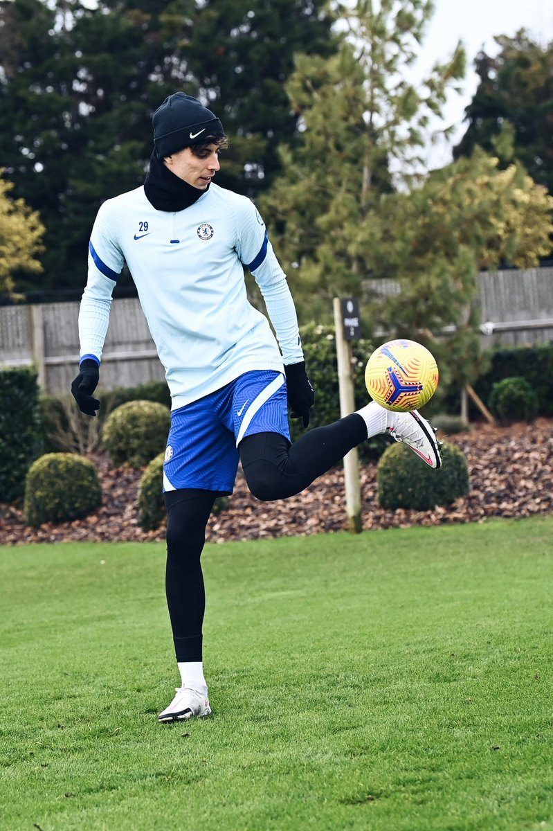 Replying to @kaihavertz29: Preparations for Leicester. #CFC