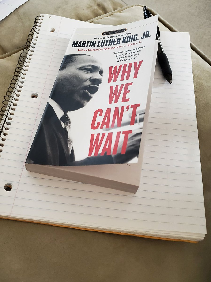 How I am spending #MLKDay2021  thank you #mlk and #CorettaScottKing. #whywecantwait1963 #whywecantwait2021