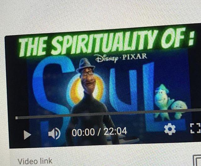 Sneak peek of the video I have coming out this week!  Stay tuned & Subscribe if you want to know when it goes live  👀  #SoulMovie #DisneySoul #PixarSoul #disneypixar #disneypixarsoul #JoeGardner #MLKDay #spirituality #spiritualbadass