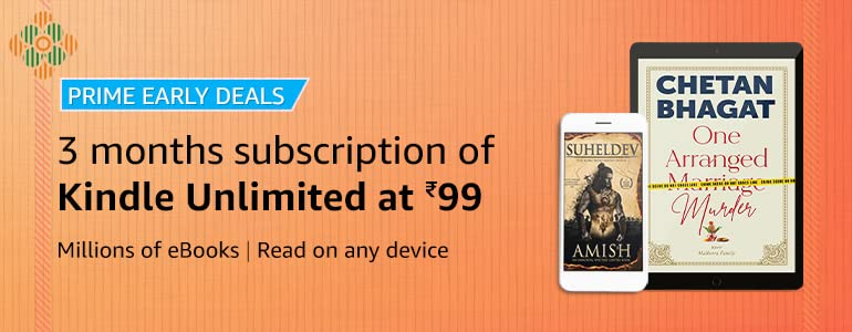 Replying to @InvestBooks: Join #KindleUnlimited   3 months subscription for ₹99
