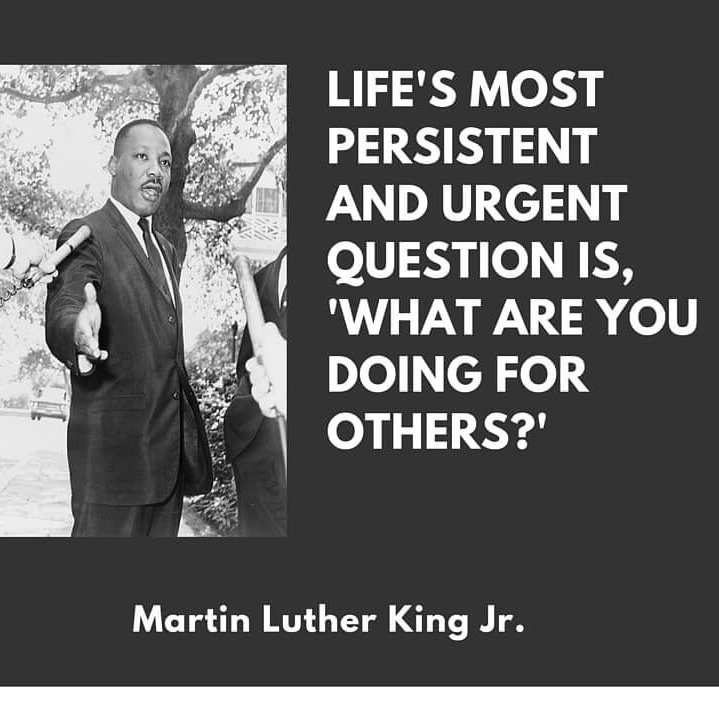 Happy Martin Luther King Day!   Today, we celebrate the life and legacy of Martin Luther King Jr. as a national day of service, a chance to empower individuals, strengthen communities and bridge barriers.  #Martinlutherkingjrday #MLK2021 #Standtogether #Ihaveadream #MLKDay