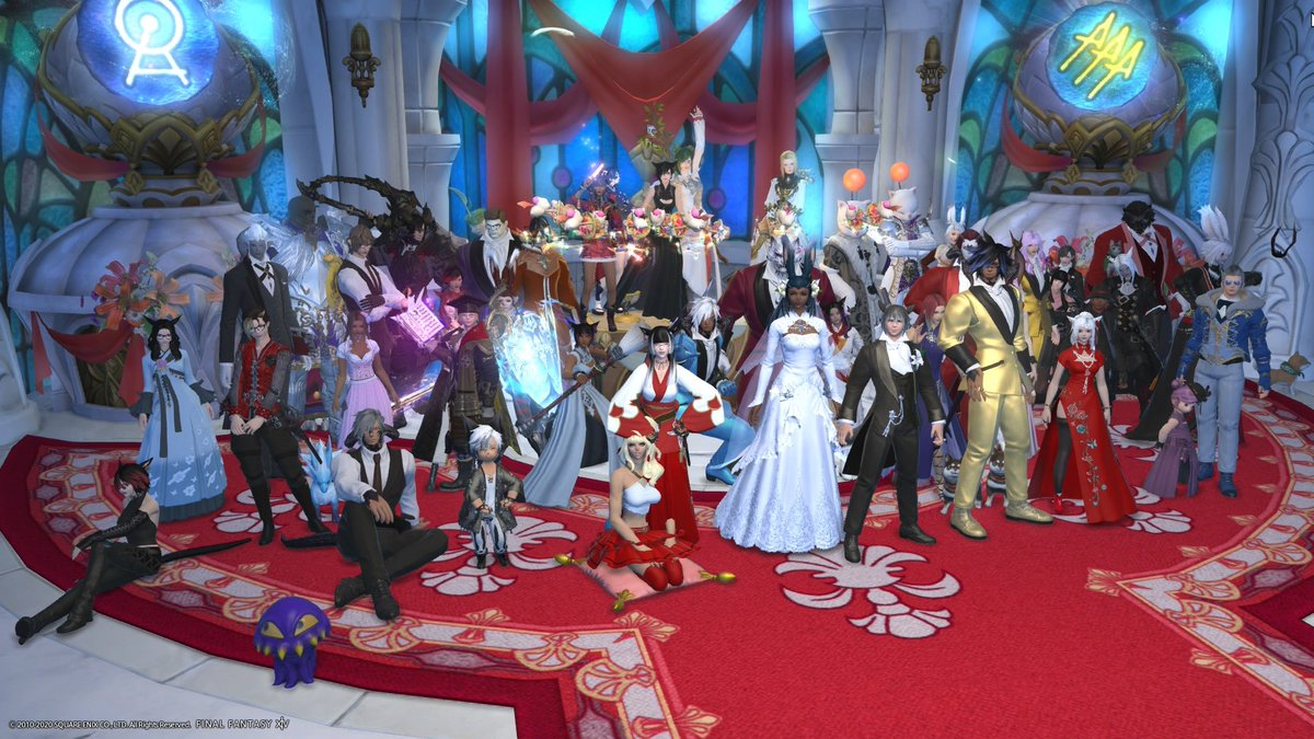 @FF_XIV_EN not to beg but it'd be sick if yall choose me cause this game means so much to me. i'm so glad i met my amazing FC and connected with so many different people. this game has given me this weird family that i didn't ask for but needed and i'm so fortunate🥺💜#FFXIV300kSweepstakes