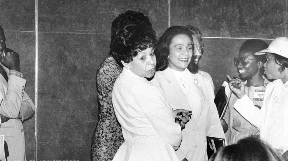 The #CSK Book Awards were founded in 1969 to commemorate the life and work of #MLK and honor #CorettaScottKing.   2021 winners will be announced January 25! Watch live:  #ALAyma #ALAMW21 (Photo: 15th anniversary celebration in 1984)